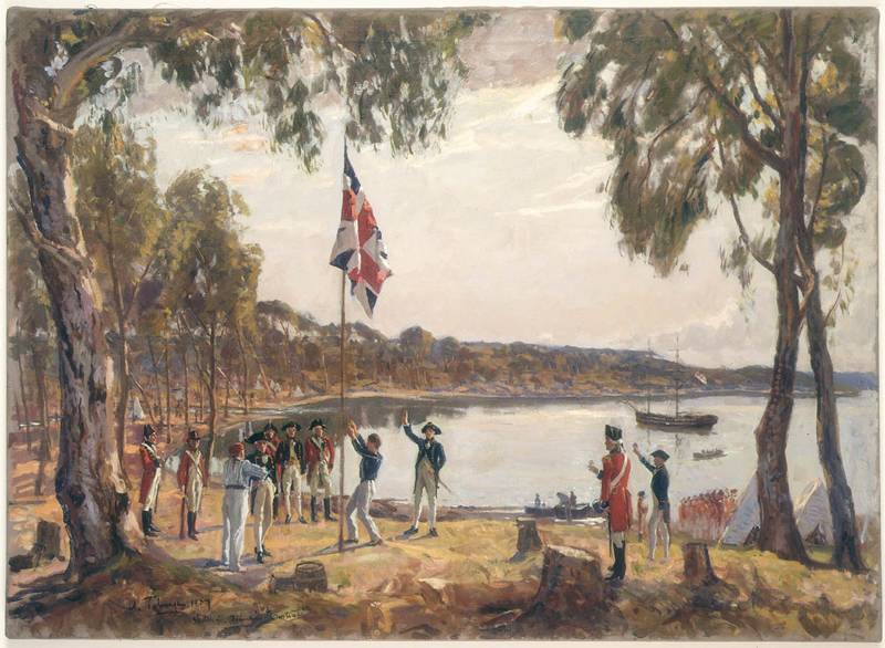 """The Founding of Australia"" (1788)"